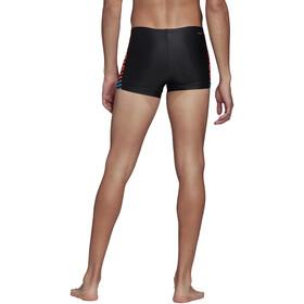 adidas Fit Lineage BX Boxer Men black/app solar red/shock cyan
